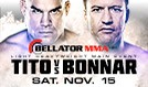 Tito vs. Bonnar tickets at Valley View Casino Center in San Diego
