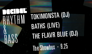 TOKiMONSTA, Baths tickets at The Showbox in Seattle