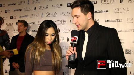 Jessica Sanchez Saves The Day For Andre Soriano At Style Fashion Week Axs