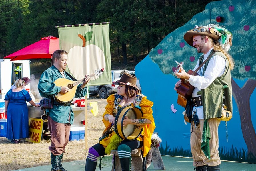 Music and dance abound at the Spokane Renaissance Faire