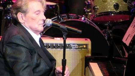 Jerry Lee Lewis is still rocking the piano after sixty years on stage