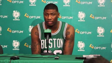 Brad Stevens names Marcus Smart as starting point guard if Rondo can't go