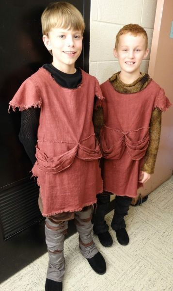 Toledo area boy performs yesterday in 'Camelot'