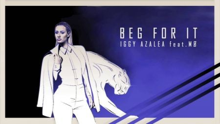 Iggy Azalea releases new track 'Beg for It'
