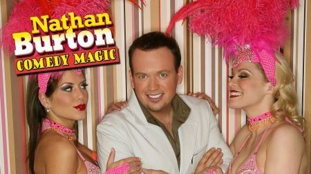 Nathan Burton effortlessly showcases the lighter side of magic