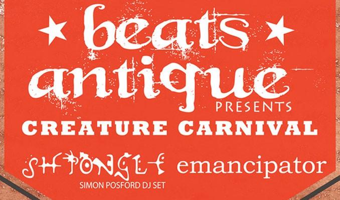 Beats Antique Creature Carnival Tour