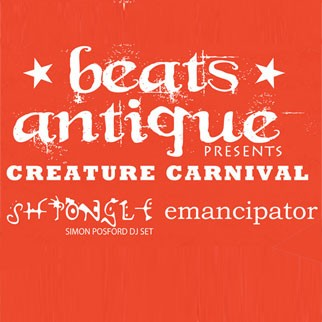 Beats Antique Creature Carnival Tour