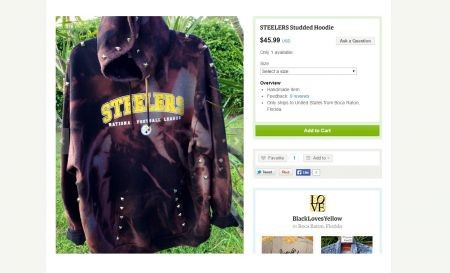 Sellers on Etsy are known for offering unique handmade or hand-crafted goods of all kinds. A shop in particular, called Black Loves Yellow,