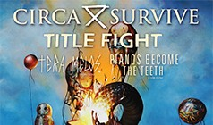 Circa Survive tickets at Club Nokia in Los Angeles