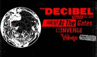 Decibel Magazine Tour 2015 feat. At the Gates tickets at Mill City Nights in Minneapolis