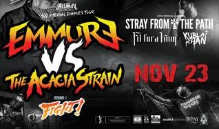 Emmure tickets at Starland Ballroom in Sayreville