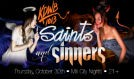 KDWB's Saints and Sinners Halloween Party  tickets at Mill City Nights in Minneapolis