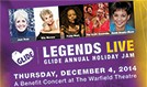 Legends Live - GLIDE Annual Holiday Jam tickets at The Warfield in San Francisco