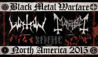 Mayhem & Watain tickets at Mill City Nights in Minneapolis