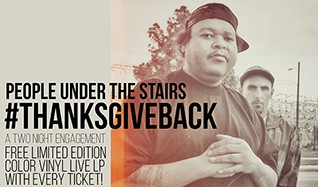 People Under the Stairs tickets at The Roxy Theatre in Los Angeles