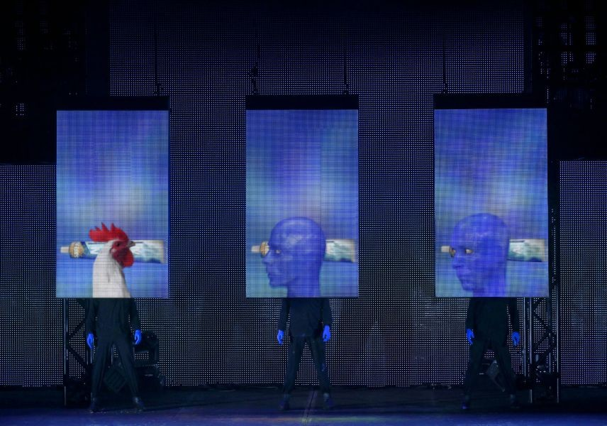 The Blue Man Group is now playing in Denver - AXS