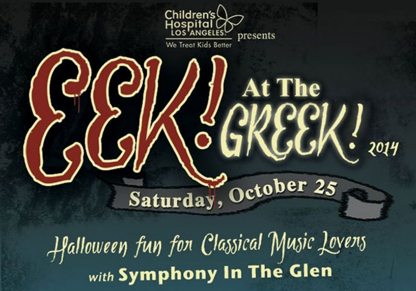 EEK! At The Greek! Halloween Fun for Classical Music Lovers, Oct. 25