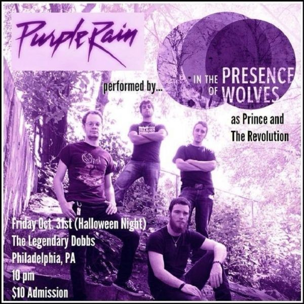In the Presence of Wolves brings 'Purple Rain' to Legendary Dobbs on Halloween
