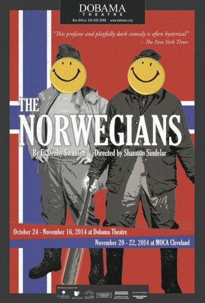 Dobama Theatre's production of 'The Norwegians' turns dark to light
