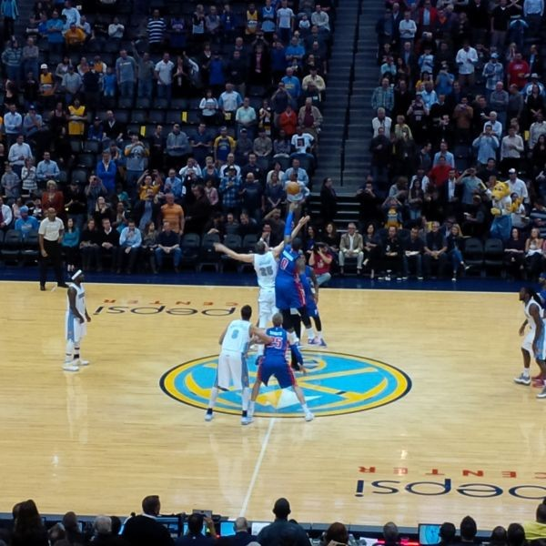 Nuggets tip off the season with a victory over the Pistons