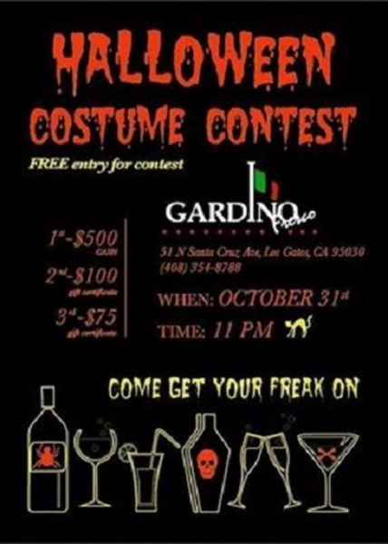 Gardinos of Los Gatos prepares for their first Halloween Party