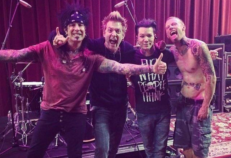 Sixx:AM prep for 'Modern Vintage' release with Black Label Society's Jeff Fabb