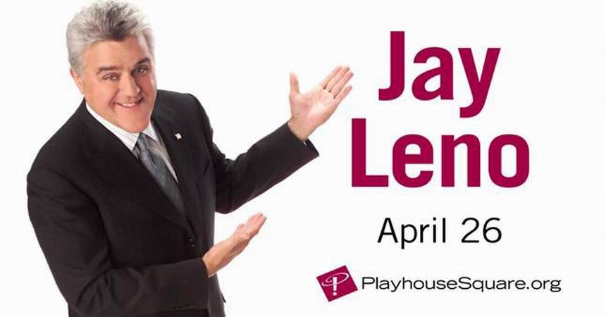 PlayhouseSquare welcomes Jay Leno to State Theatre for first time