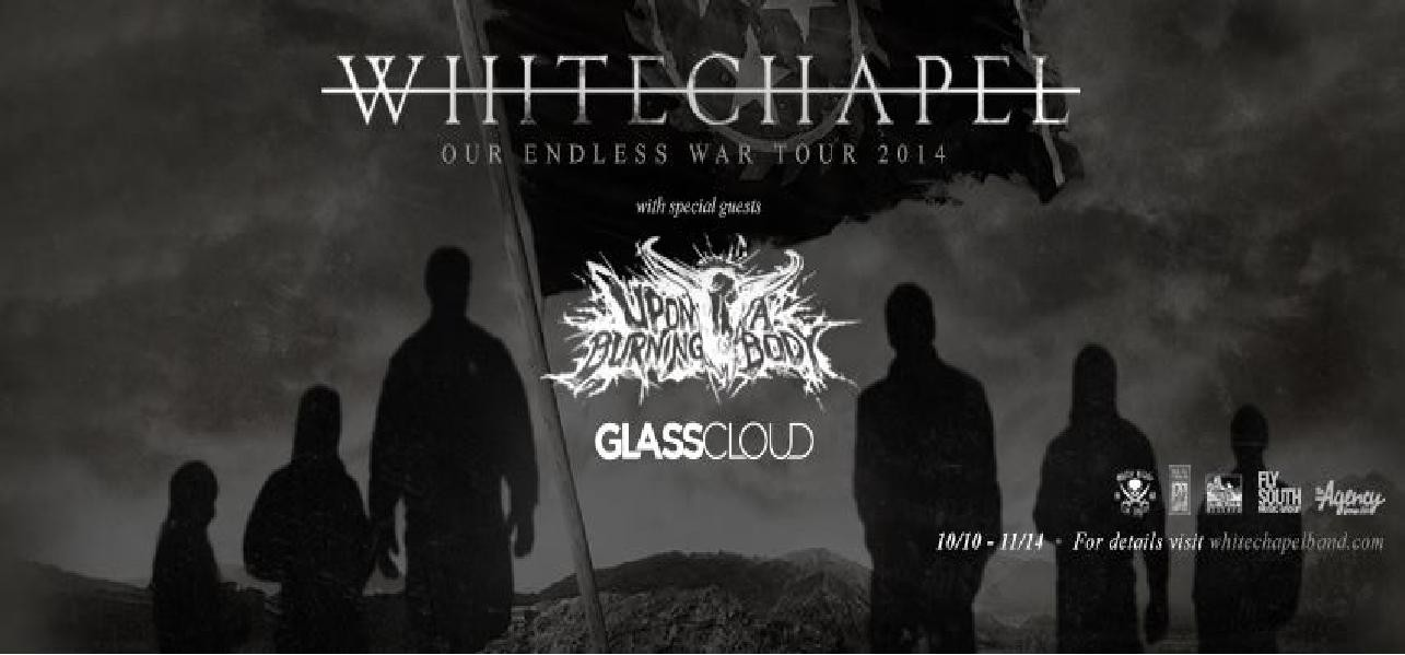 KISW Metal Shop and Studio Seven present: Whitechapel live on Halloween night