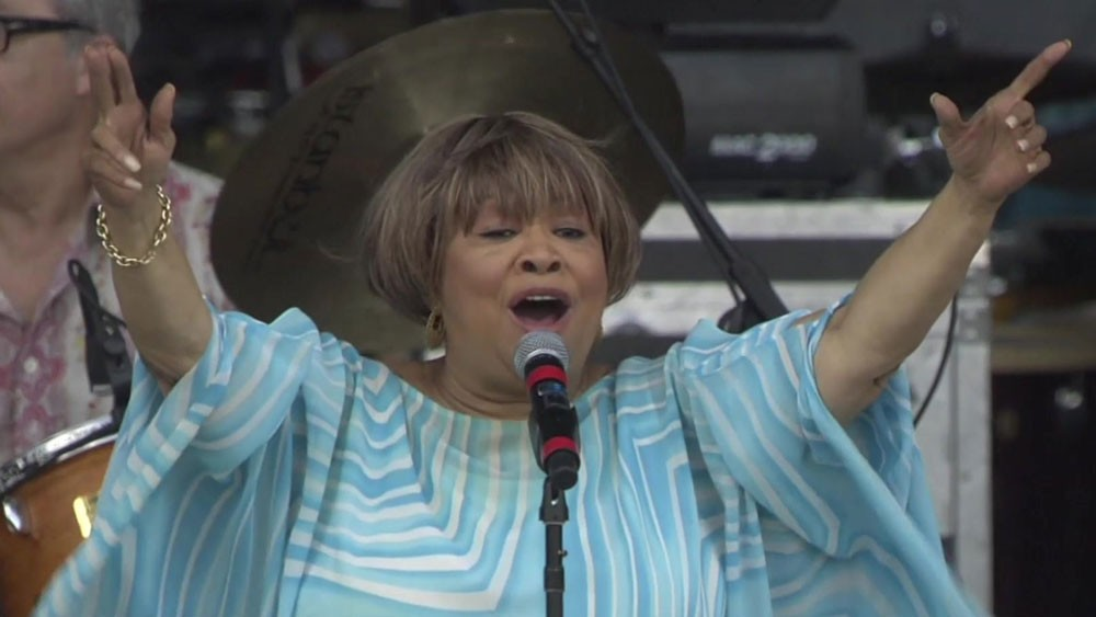 Mavis Staples and the 50th anniversary of The Free Speech Movement.