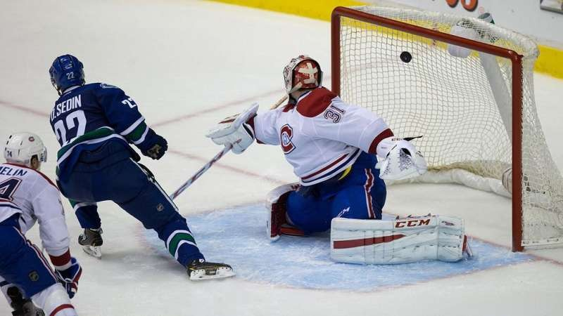 Sedin Twins push Canucks over Montreal