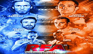 Ring of Fire: Resurrection Fighting Alliance 20 tickets at 1STBANK Center in Broomfield
