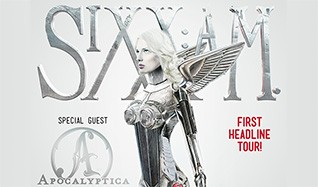 Sixx:A.M. tickets at Royal Oak Music Theatre in Royal Oak