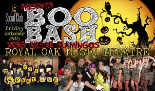 SPSC Boo Bash 2014				 tickets at Royal Oak Music Theatre in Royal Oak