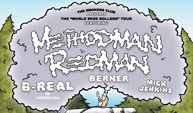 The Smokers Club Tour starring Method Man & Redman