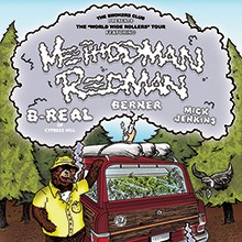 The Smokers Club Tour starring Method Man & Redman tickets at The Regency Ballroom in San Francisco