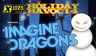 X107.5 Holiday Havoc 2014 featuring Imagine Dragons tickets at The Joint at Hard Rock Hotel & Casino Las Vegas in Las Vegas