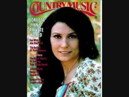 Loretta Lynn performing at The Joint