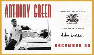 Anthony Green tickets at Starland Ballroom in Sayreville