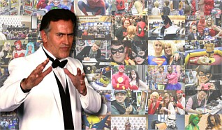 Bruce Campbell VIP Experience @ Wizard World Tulsa Comic Con 2015 tickets at Cox Business Center in Tulsa