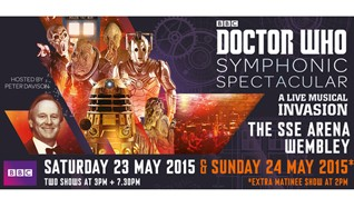 Doctor Who Symphonic Spectacular tickets at The SSE Arena, Wembley in London