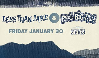 Less Than Jake and Reel Big Fish tickets at Starland Ballroom in Sayreville
