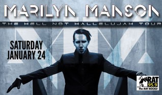Marilyn Manson tickets at Starland Ballroom in Sayreville