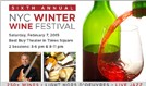 New York City Winter Wine Fest tickets at Best Buy Theater in New York