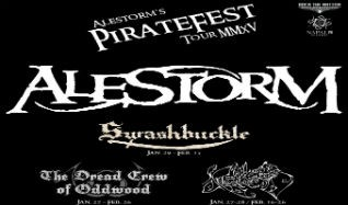 PIRATEFEST 2015 feat. Alestorm, Swashbuckle & The Dreadcrew of Oddwood tickets at Mill City Nights in Minneapolis