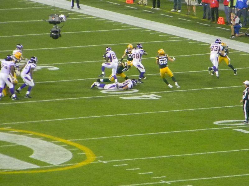 Minnesota Vikings hope home field can slow Green Bay Packers