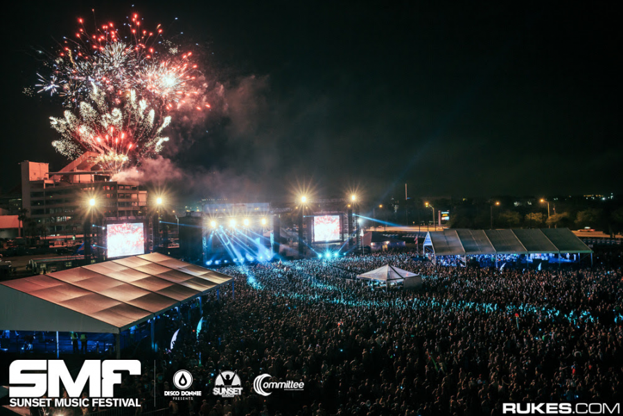 Sunset Music Festival 2015 in Tampa on Memorial Day weekend