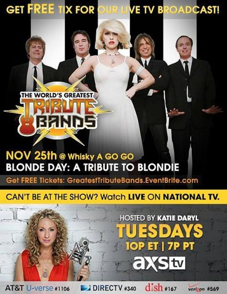 Blonde Day: Tribute to Blondie performs on The World's Greatest Tribute Bands