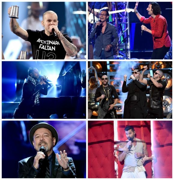 Latin Grammy Awards celebrate sweet 15 with lots of music