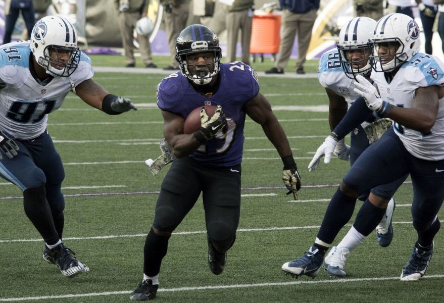 Ravens' Forsett wins AFC offensive honors for second time
