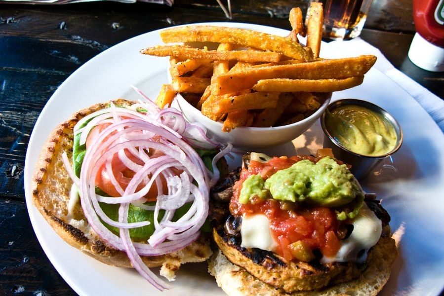 Best veggie burgers in Chicago